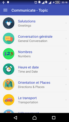 Learn French daily - Awabe screenshot 2