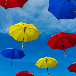 Just Umbrellas by Oyi Kresnamurti - Instagram & Mobile Android ( android, colorful, umbrella, s5, samsung, mobile,  )
