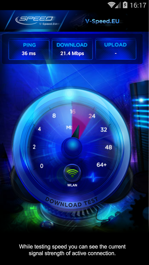 Internet Speed Test Screenshot 1