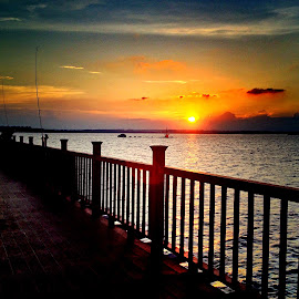Sunset at Changi Point by Janette Ho - Instagram & Mobile iPhone (  )