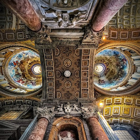 Vatican's EPIC ceiling  by Wael Onsy - Buildings & Architecture Other Interior