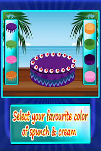 Delicious Cake Make Decoration - screenshot