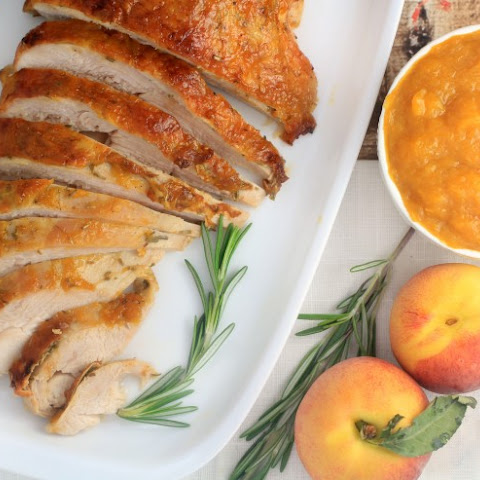 Peach-Glazed Roasted Turkey Breast