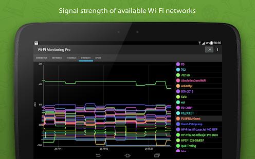 App WiFi Monitor Pro - analyzer of Wi-Fi networks apk for ...