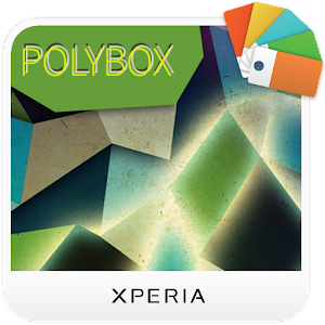 XPERIA™ Polybox Theme