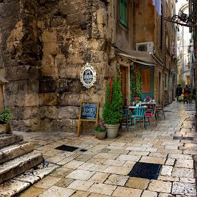 Split / Croatia by Dado Barić - City,  Street & Park  Neighborhoods ( dalmacija, street, croatia, stone, split, dalmatia, ulica, hrvatska )