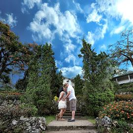 Perfect Day by Hernani Domondon - People Couples ( love, nature, prewedding, wedding, couple, men, people, women, prenup )