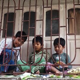The Three Musketeers   by Sumita Mehera - Babies & Children Children Candids