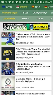 MyFootball - screenshot