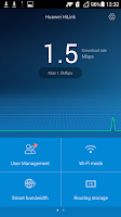 Screenshot of Huawei HiLink (Mobile WiFi)