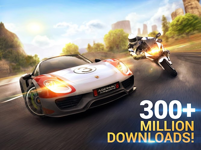 Asphalt 8: Airborne Android App Screenshot