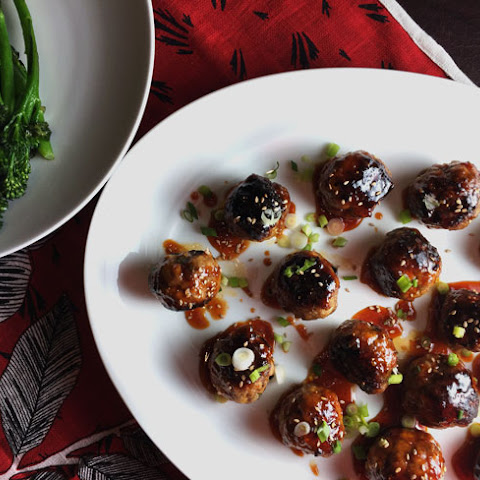 Spicy Korean Meatballs