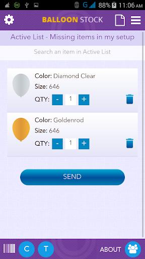 Balloon Stock - screenshot