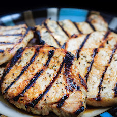 Grilled Honey Lime Pork Chops