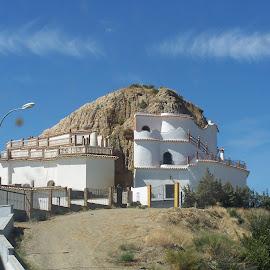 Posh Troglodyte  by Jenny Noraika - Buildings & Architecture Homes ( home, posh, troglodyte, cave, spain )