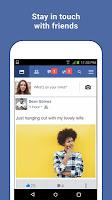 screenshot of Facebook Lite