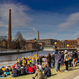 May Day in Tampere by Sakari Partio - City,  Street & Park  City Parks