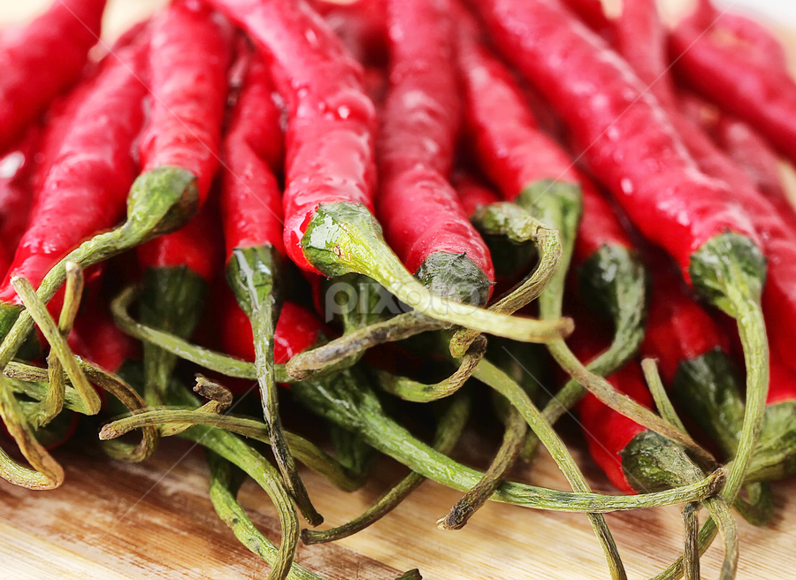 hot chili...... by Ismed  Hasibuan  - Food & Drink Fruits & Vegetables ( red, food, vegetables, hot, chili )