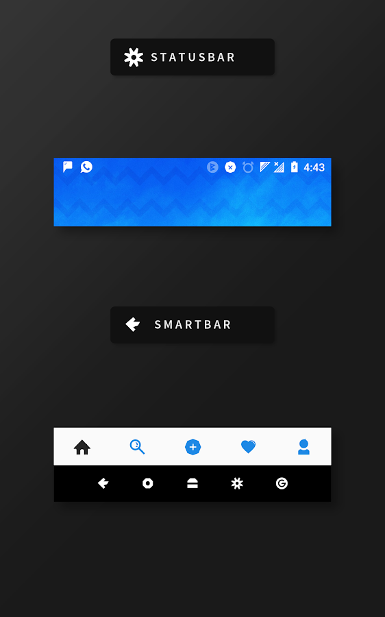 RubiQ Substratum Theme Screenshot 6