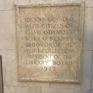 John Griswold White citizen of Cleveland lawyer scholar bookman donor of the White Collection President of the Library Board 1925  Submitted by Bryan Arnold @nanowhiskers