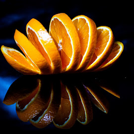 Tha orange by Adrian Minda - Food & Drink Fruits & Vegetables ( orange, close up, fruit, flower )