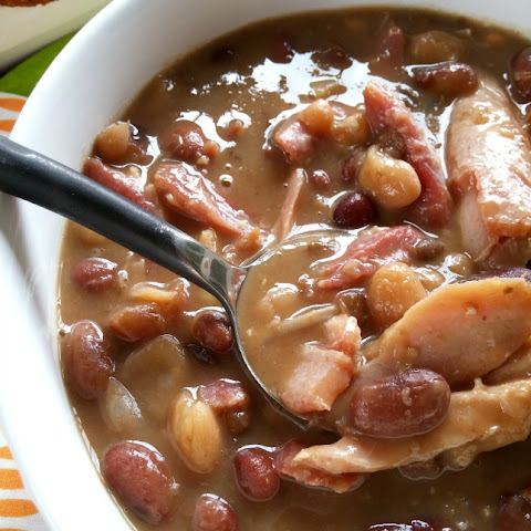 15 Bean Turkey Soup