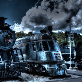 by Greg Bennett - Transportation Trains ( st louis, transportation museum, trains )