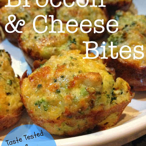 Broccoli and Cheese Bites - Taste Tested & Approved by Little Mister