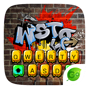 Download Graffiti Style Keyboard Theme For PC Windows and Mac