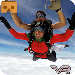 VR 360 Sky Diving Games Icon