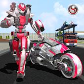 Free Robot Bike Transport Truck Sim APK for Windows 8