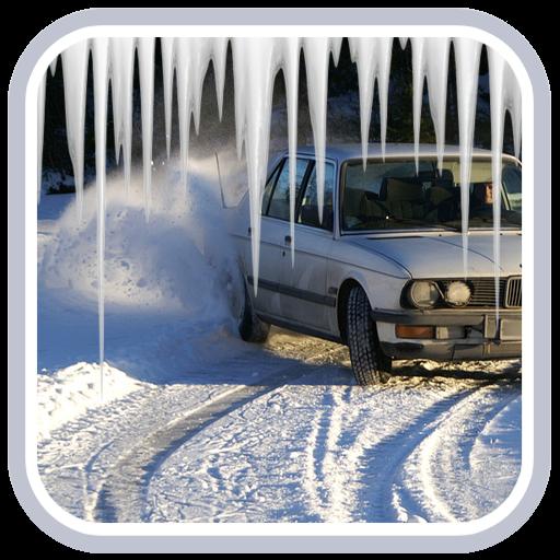 Snowy City Car Drift (game)