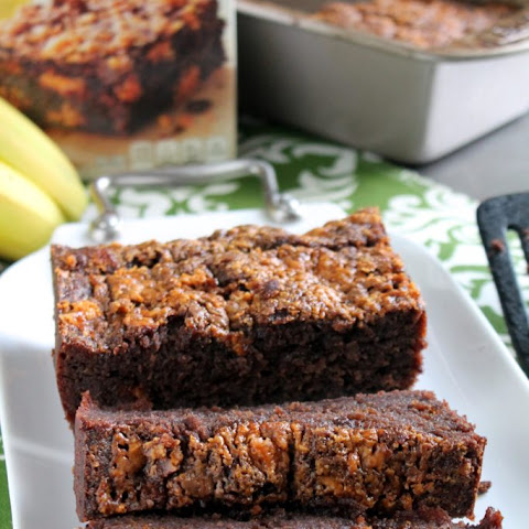 BUTTERFINGER BROWNIE BANANA BREAD