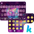 Galaxy Cat Emoji Kika Keyboard 1.0 icon