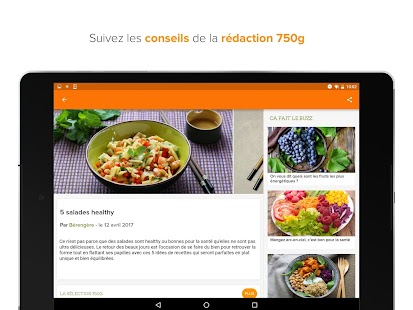 750g 80 000 recettes android apps on google play for 750grammes com fiche de cuisine