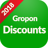 Coupons & Discounts : Lite app for groupon$ icon