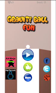 Gravity Ball Fun - screenshot