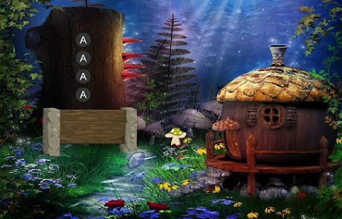 Amanita Mushroom Forest Escape- screenshot
