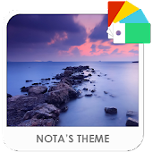 Evening Sea Xperia Theme APK baixar