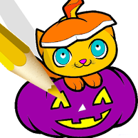Halloween Book Coloring Pages For PC (Windows And Mac)