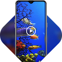 Colorful cute underwater fish live wallpa 1.0.1 APK تنزيل