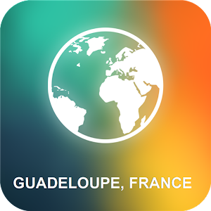 Guadeloupe, France Offline Map