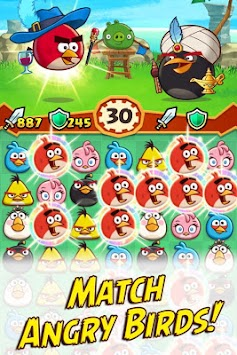 Angry Birds Fight! RPG Puzzle APK screenshot thumbnail 2