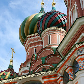 St Basil, Moscow by HB Jansson - Buildings & Architecture Places of Worship ( red square, st basil, russia, moscow, landmark, travel )