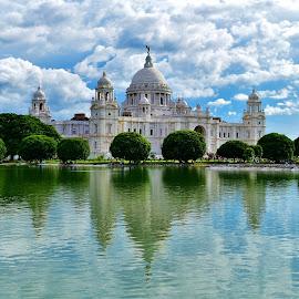 Victoria Memorial by Manab Das - Buildings & Architecture Public & Historical