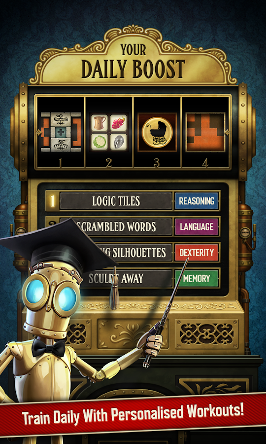 A Clockwork Brain Training Screenshot 2