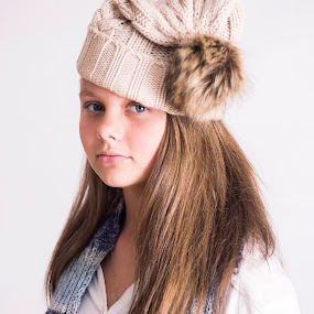 Cold look. by Susan Pretorius - Babies & Children Child Portraits