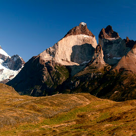 Los Cuernos by Stanley P. - Landscapes Mountains & Hills