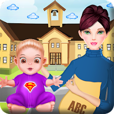 Pregnant teacher baby games