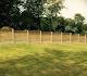 Horizontal and Lattice Decorative Fencing